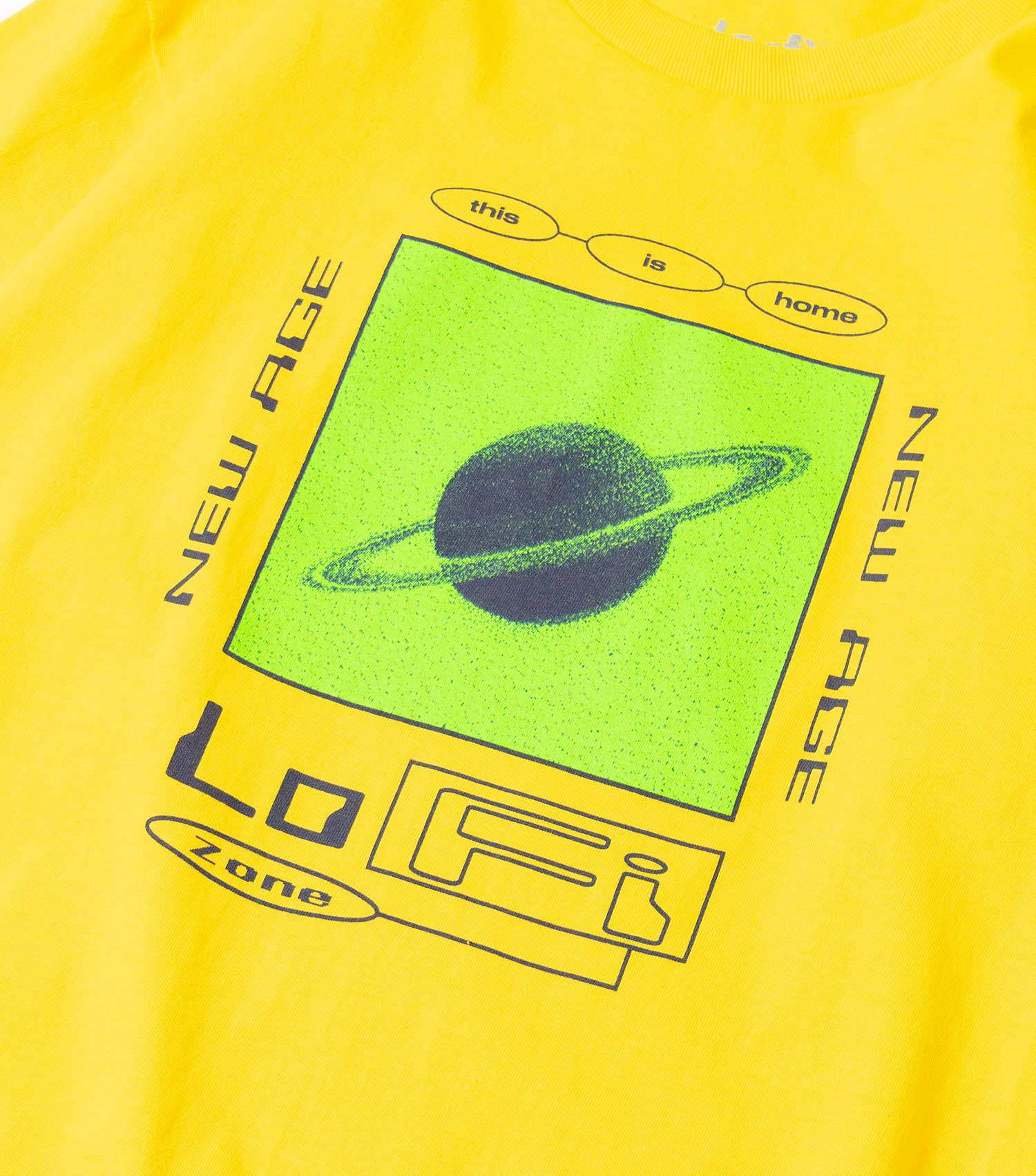 Lo-Fi New Age T-Shirt - Yellow