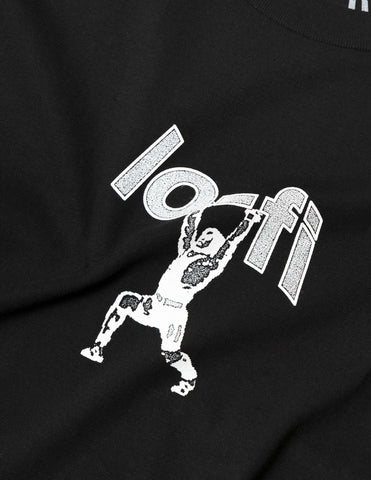 Lo-Fi Dead Lift Logo T-Shirt - Black T-Shirt - CARTOCON