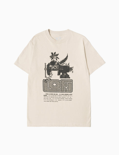 Lo-Fi Vice T-Shirt - Sand T-Shirt - CARTOCON