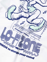 Lo-Fi Studio T-Shirt - White T-Shirt - CARTOCON