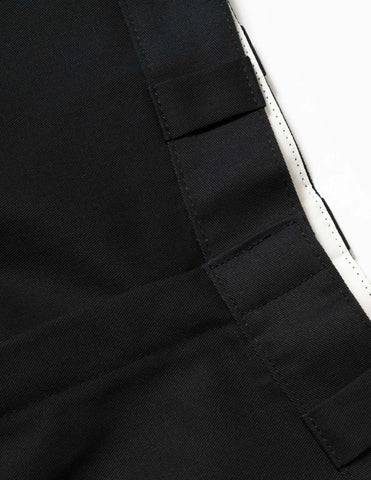 Lo-Fi Peace Dickies Work Pants - Black Trousers - CARTOCON
