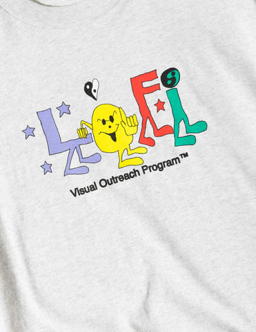 Lo-Fi Program T-Shirt - Ash T-Shirt - CARTOCON
