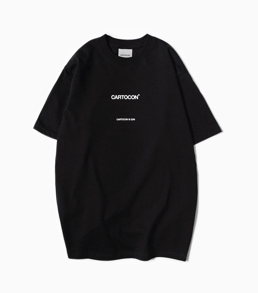 CARTOCON 2019 Logo T-Shirt - Black T-Shirt - CARTOCON