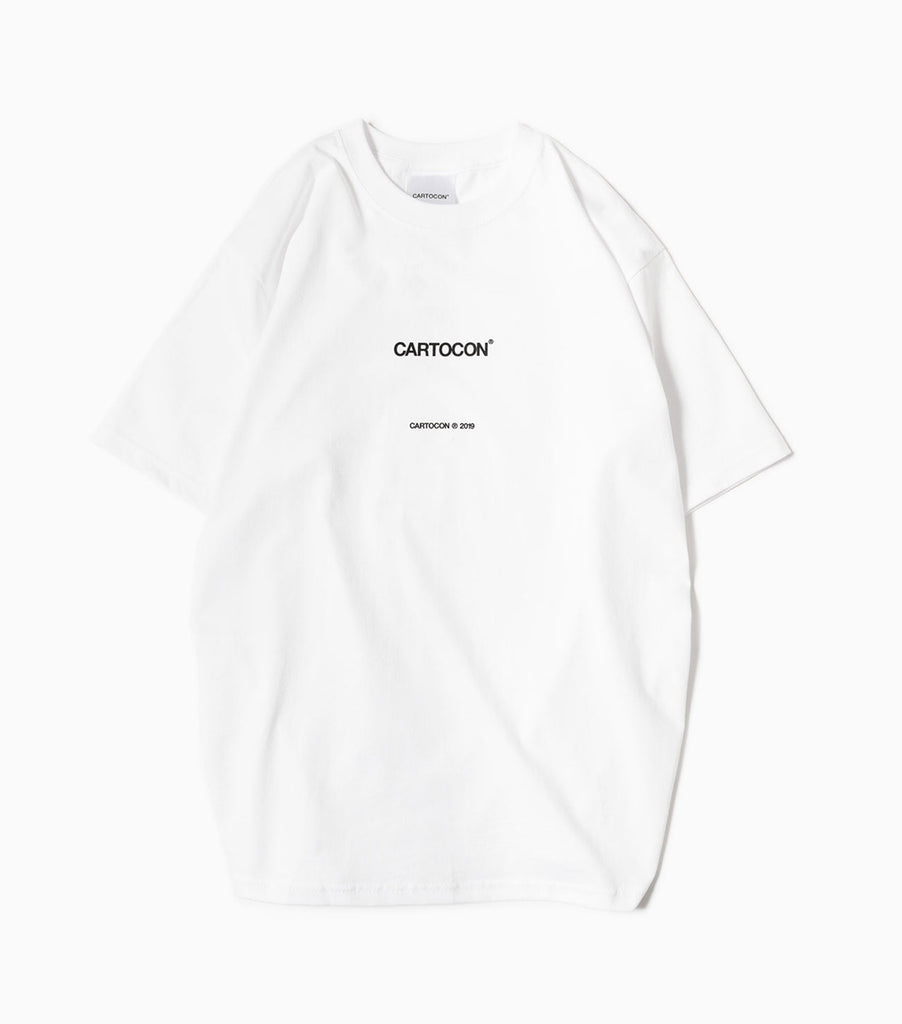 CARTOCON 2019 Logo T-Shirt - White T-Shirt - CARTOCON
