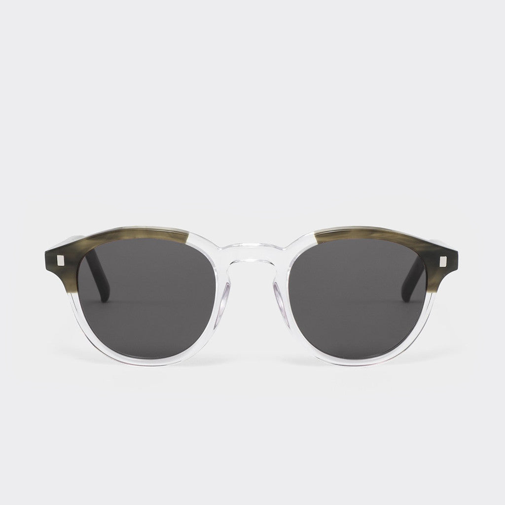 Monokel Nelson Sunglasses - Green Demi/Crystal