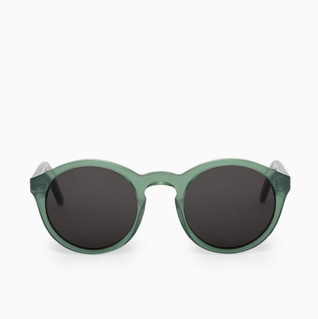 Monokel Eyewear Barstow Sunglasses - Clear Green