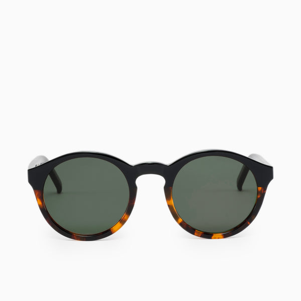 Monokel Eyewear Barstow Sunglasses - Black/Havana Sunglasses - CARTOCON
