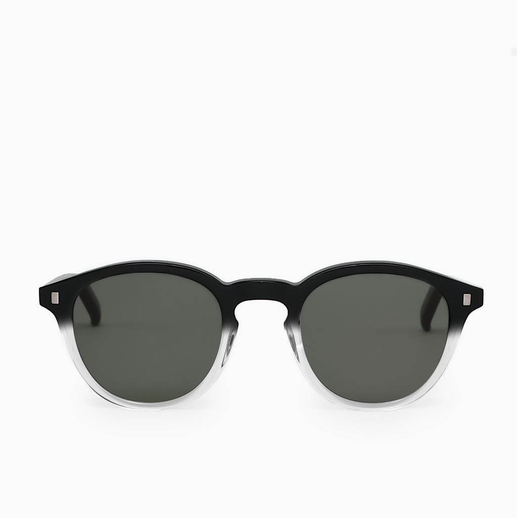 Monokel Eyewear Nelson Sunglasses - Black/Crystal Eco