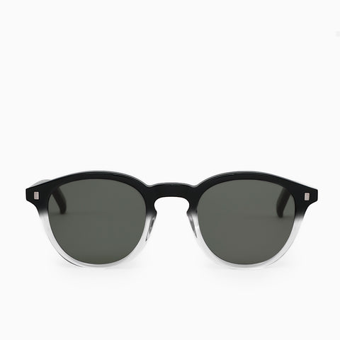 Monokel Eyewear Nelson Sunglasses - Black/Crystal Eco Sunglasses - CARTOCON