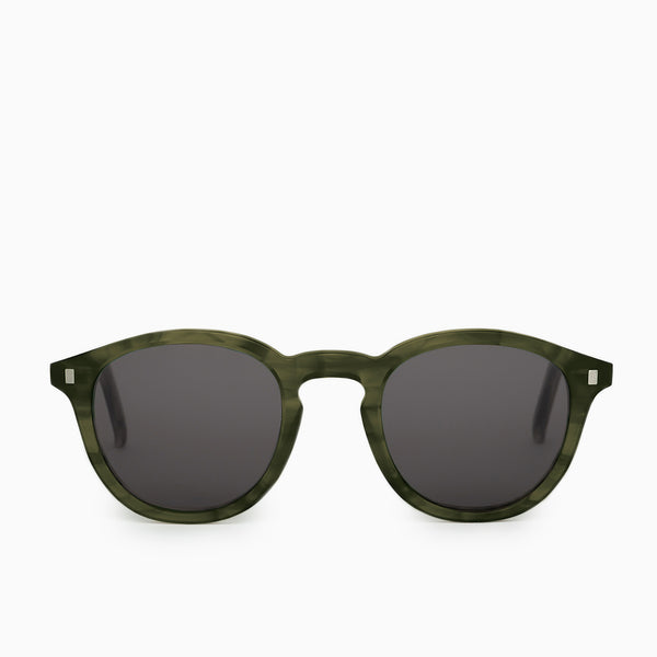 Monokel Eyewear Nelson Sunglasses - Green Demi Sunglasses - CARTOCON