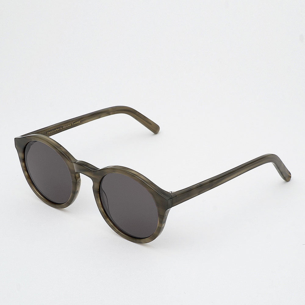 Monokel Barstow Sunglasses - Green Demi - 2