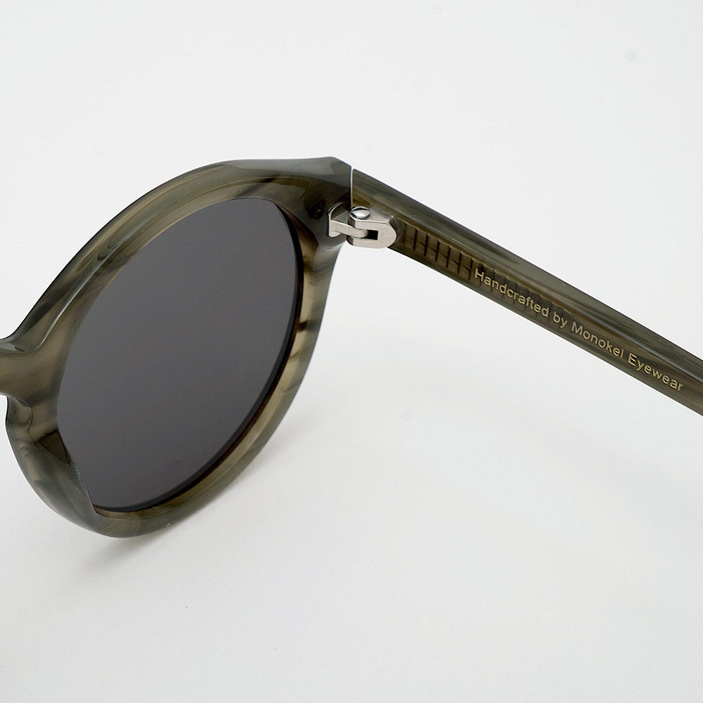 Monokel Barstow Sunglasses - Green Demi - 3