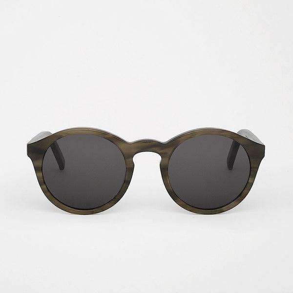 Monokel Barstow Sunglasses - Green Demi - 1