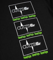 NeverHope Cult Crime T-Shirt - Black T-Shirt - CARTOCON