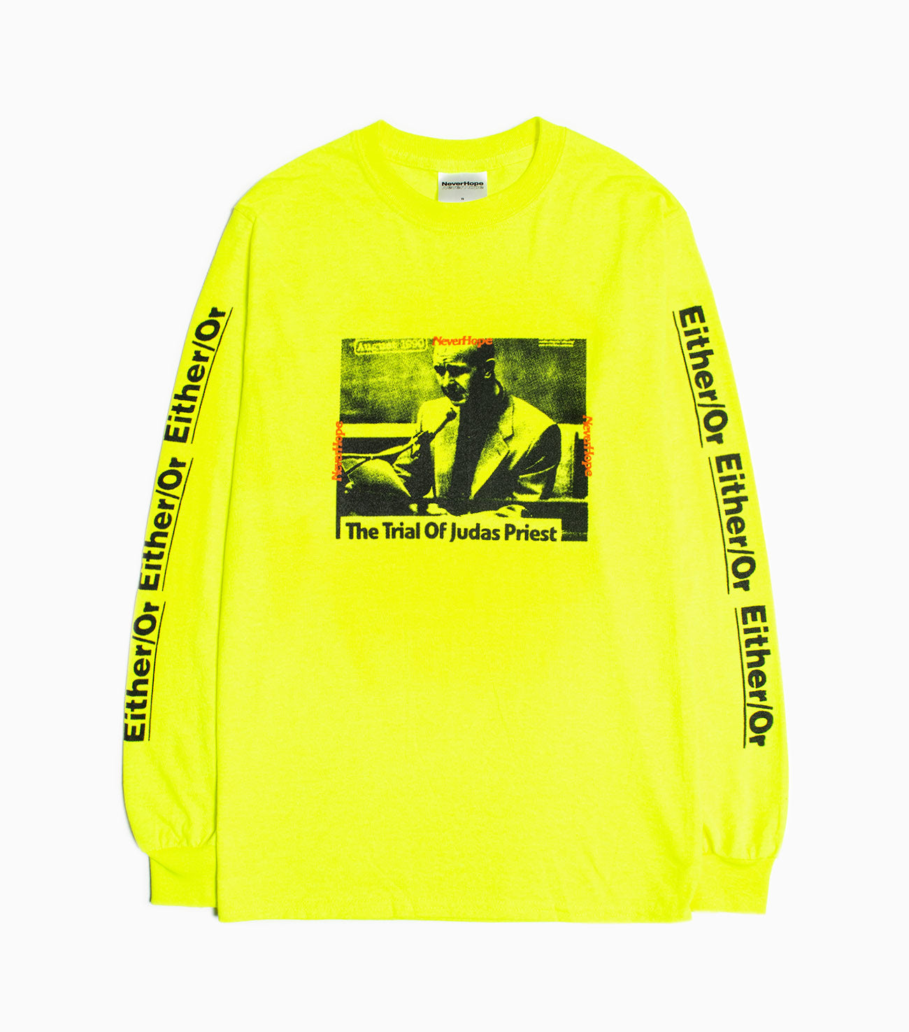 NeverHope Trials Long Sleeve - Green