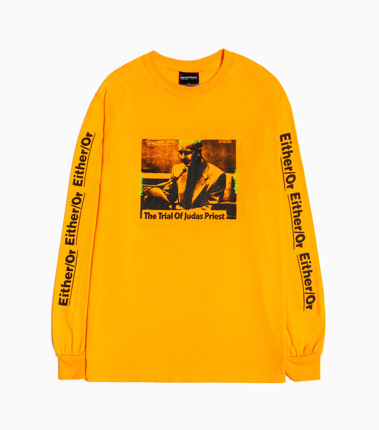 NeverHope Trials Long Sleeve - Orange