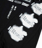 NeverHope Bizarre Long Sleeve - Black Long Sleeve T-Shirt - CARTOCON
