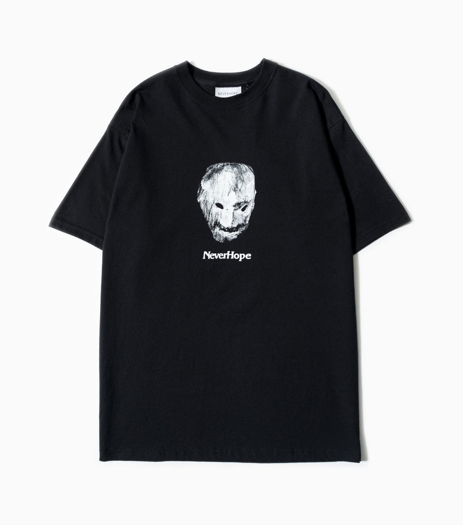 Neverhope Mask T-Shirt - Black T-Shirt - CARTOCON