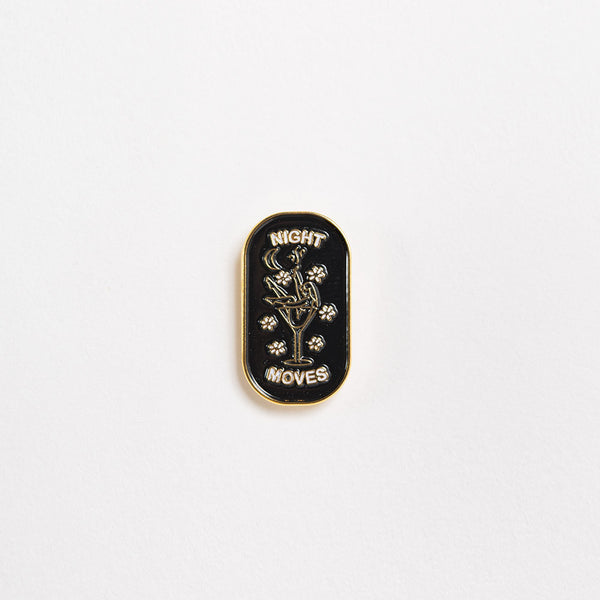 Good Worth Night Moves Pin Badge
