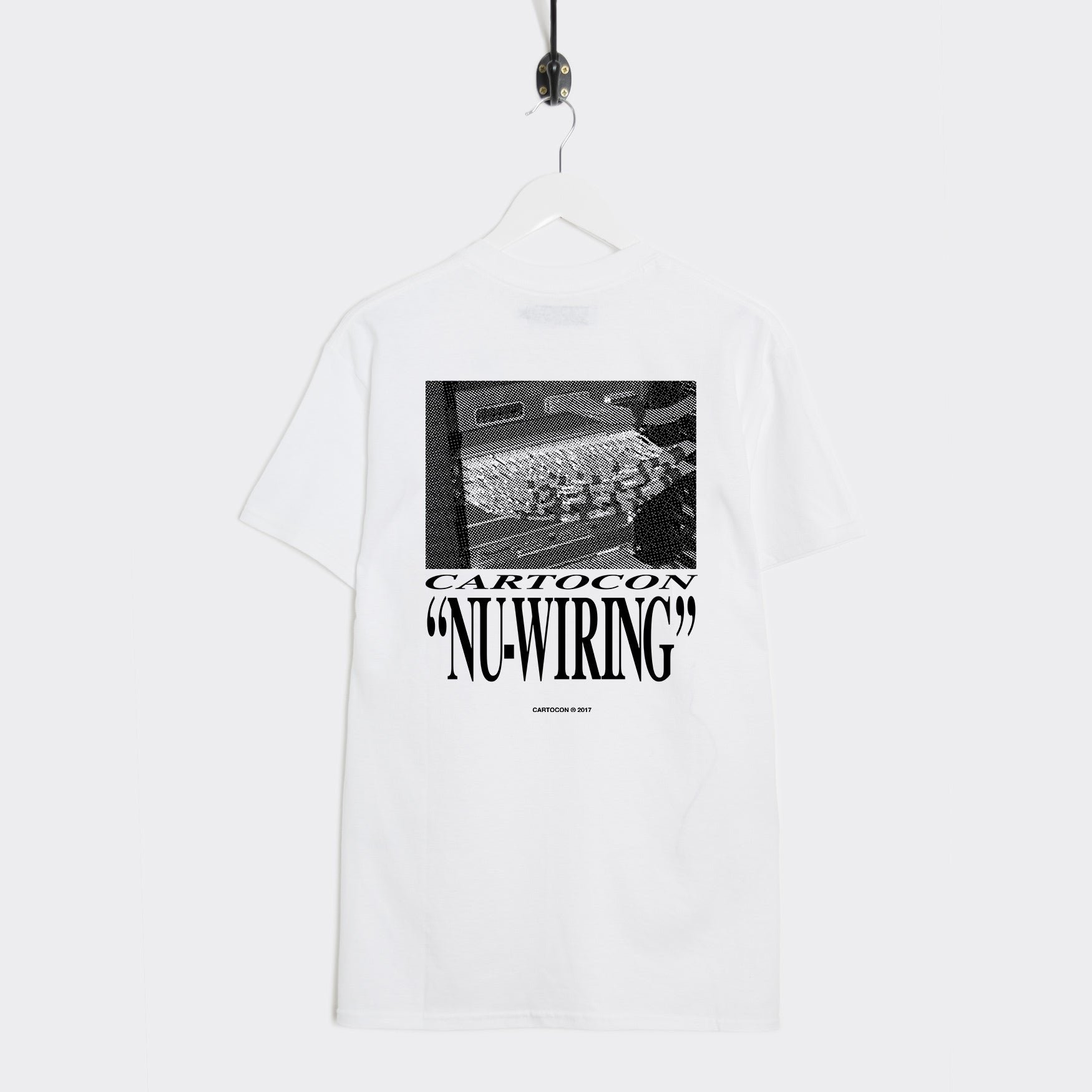 Cartocon Nu Wiring T-Shirt - White