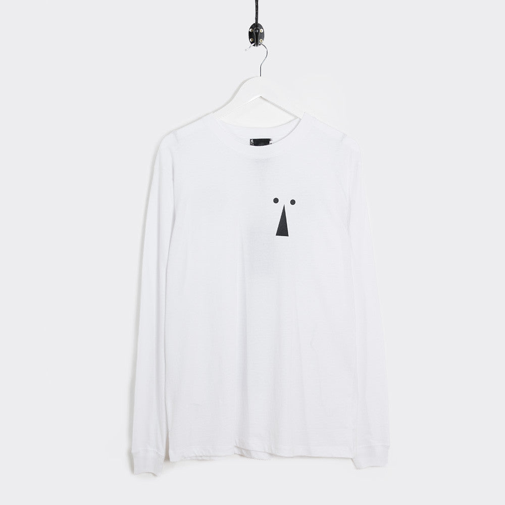 Perks & Mini Keyhole Long Sleeve T-Shirt - White - 1