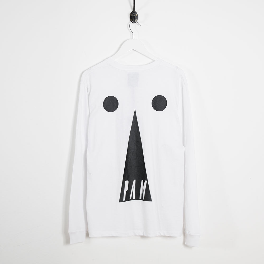 Perks & Mini Keyhole Long Sleeve T-Shirt - White - 2