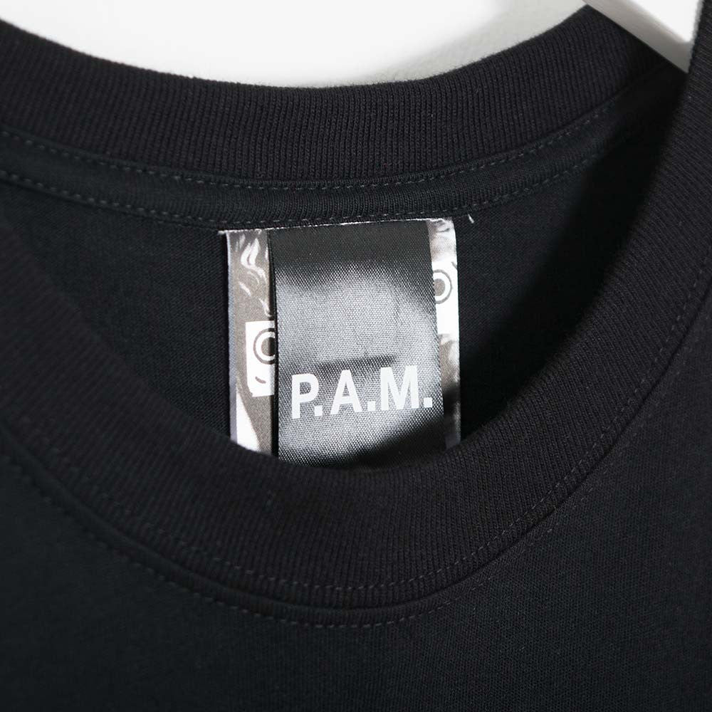 Perks & Mini PAM Logo T-Shirt - Black - 4