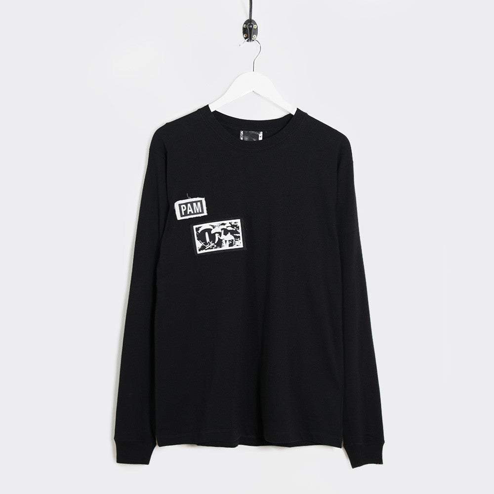 Perks & Mini Psilocybe Patch T-Shirt - Black - 1