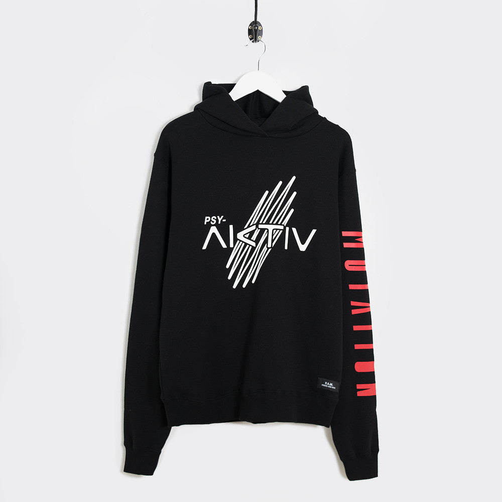 Perks & Mini Sine Hooded Sweatshirt - Black - 1