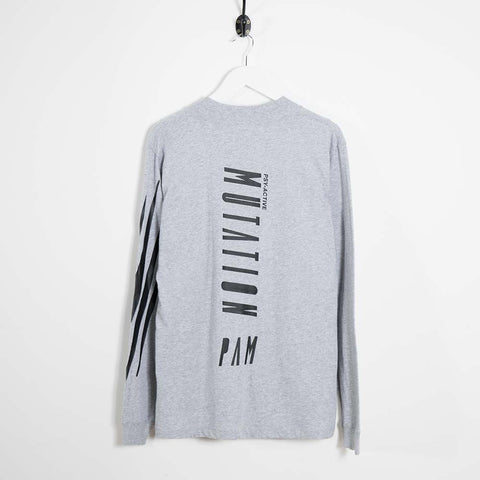 Perks & Mini Sine Mutation Hi-Neck Long Sleeve T-Shirt - Grey  - CARTOCON