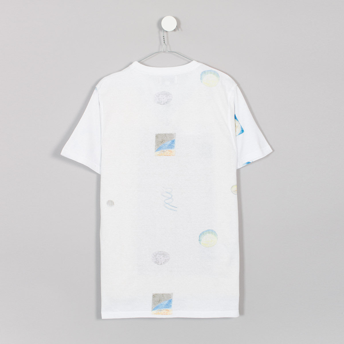 Soulland Pluto T-Shirt - White  - CARTOCON