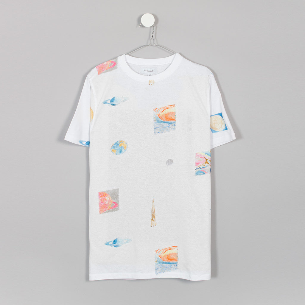 Soulland Pluto T-Shirt - White - 1