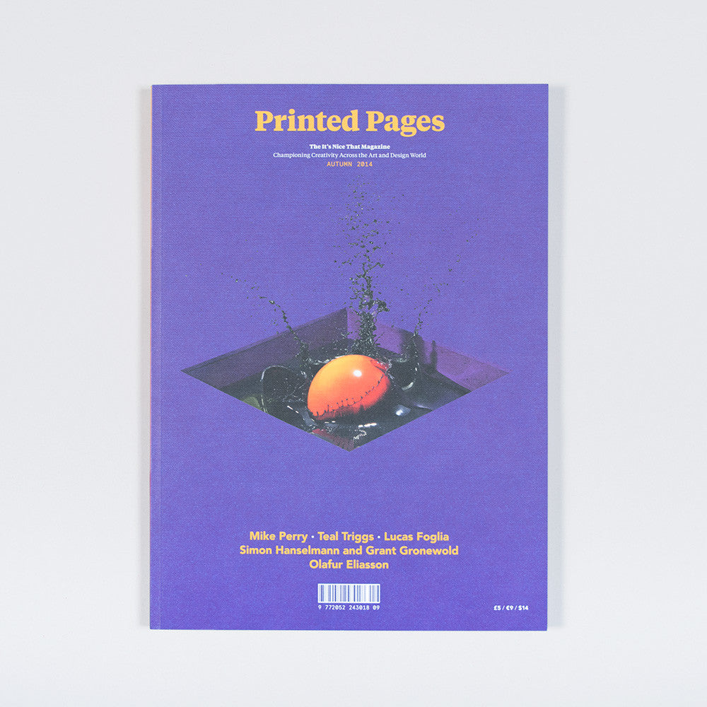 Printed Pages – Autumn 2014 - 1