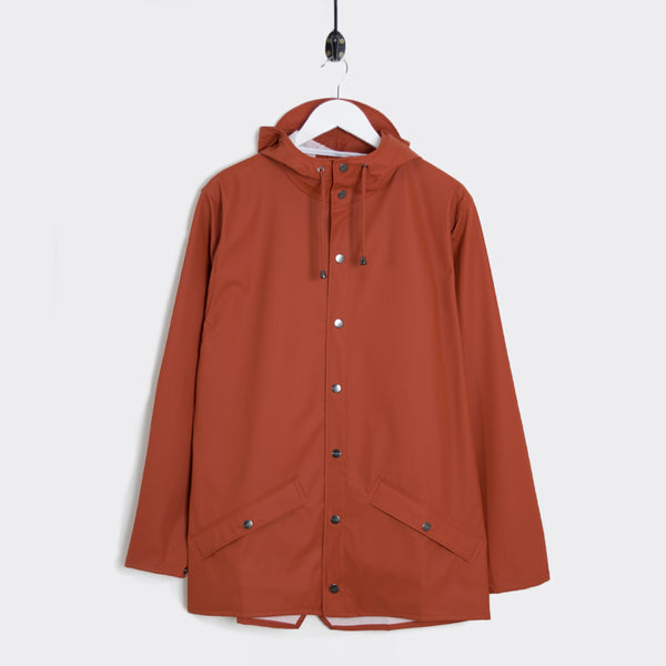 Rains Jacket - Rust