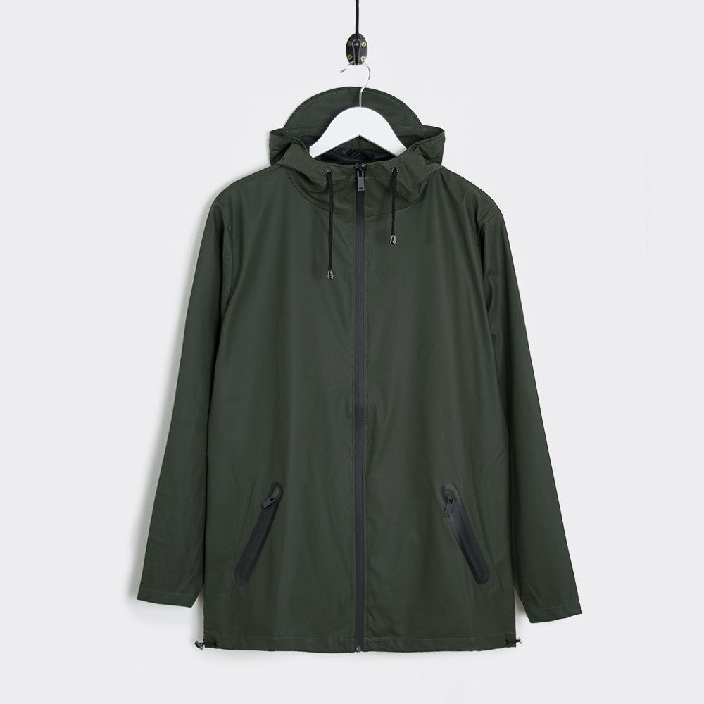 Rains Breaker Jacket - Green - 1