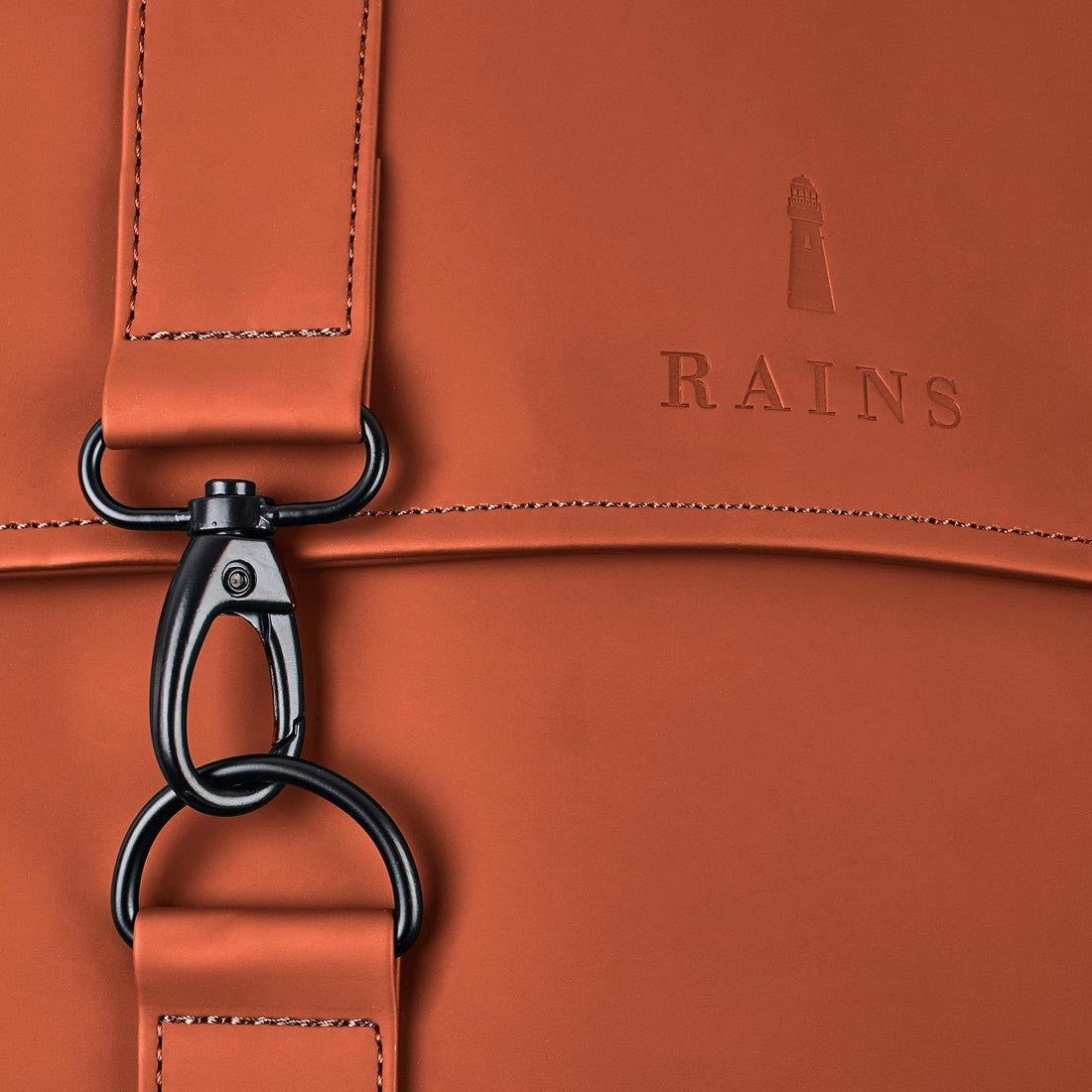 Rains MSN Bag - Rust - 4