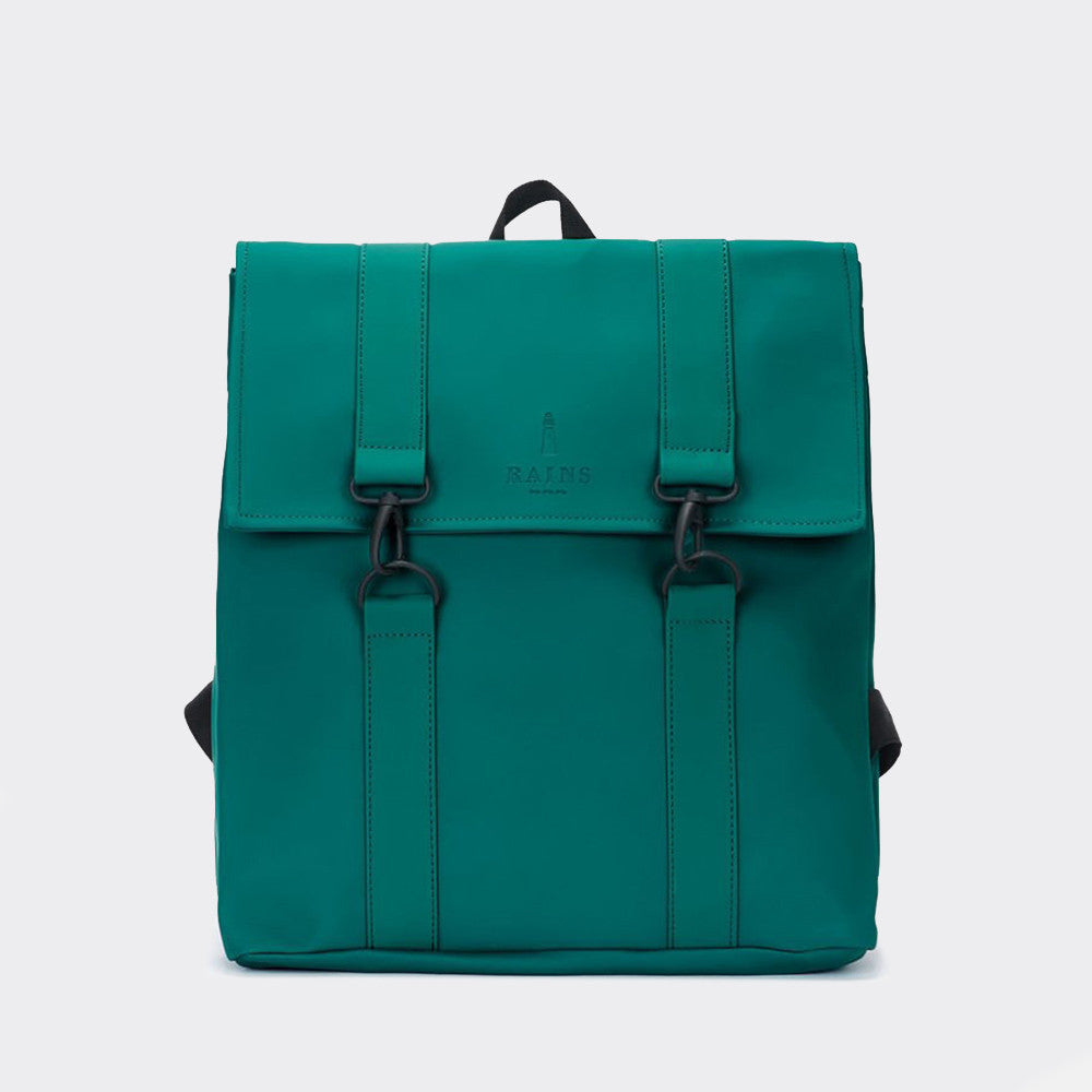 Rains MSN Backpack Waterproof Bag -Dark Teal