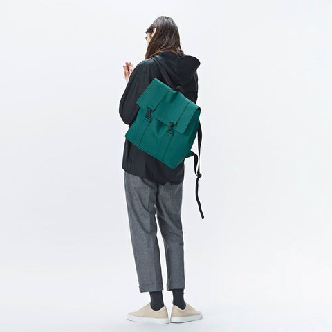 Rains MSN Backpack Waterproof Bag -Dark Teal Backpack - CARTOCON