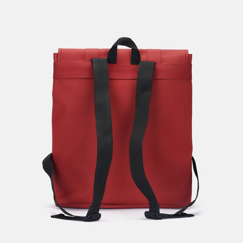 Rains MSN Backpack Waterproof Bag - Scarlet Backpack - CARTOCON