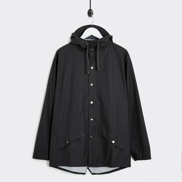 Rains Jacket - Black - 1