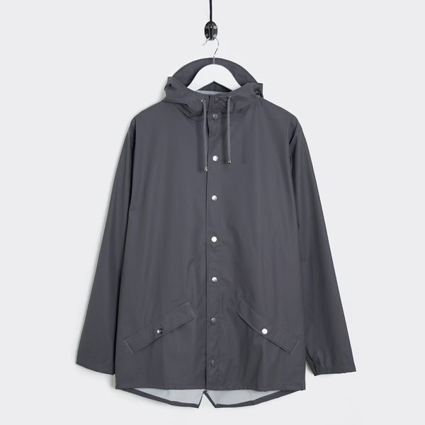 Rains Jacket - Smoke Grey - 1