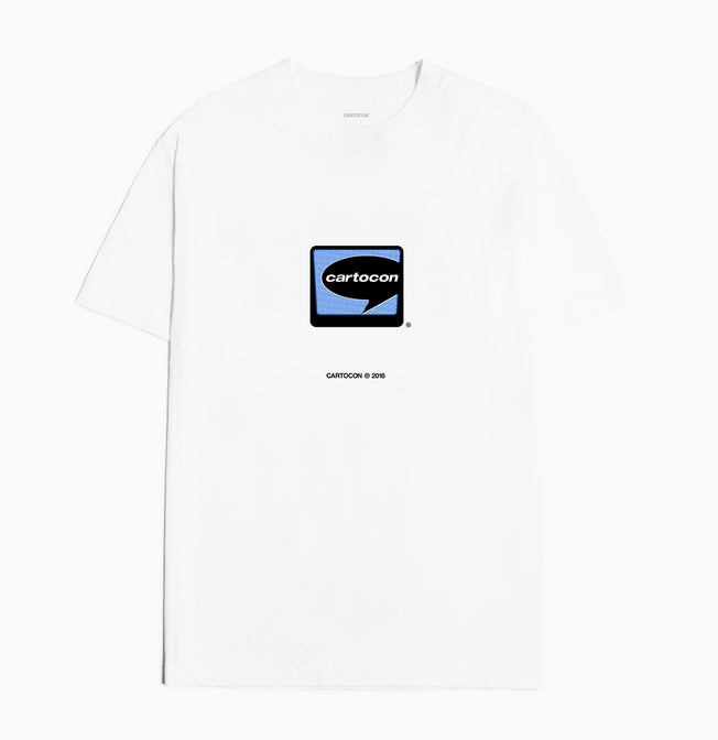 CARTOCON Real Player T-Shirt - White T-Shirt - CARTOCON