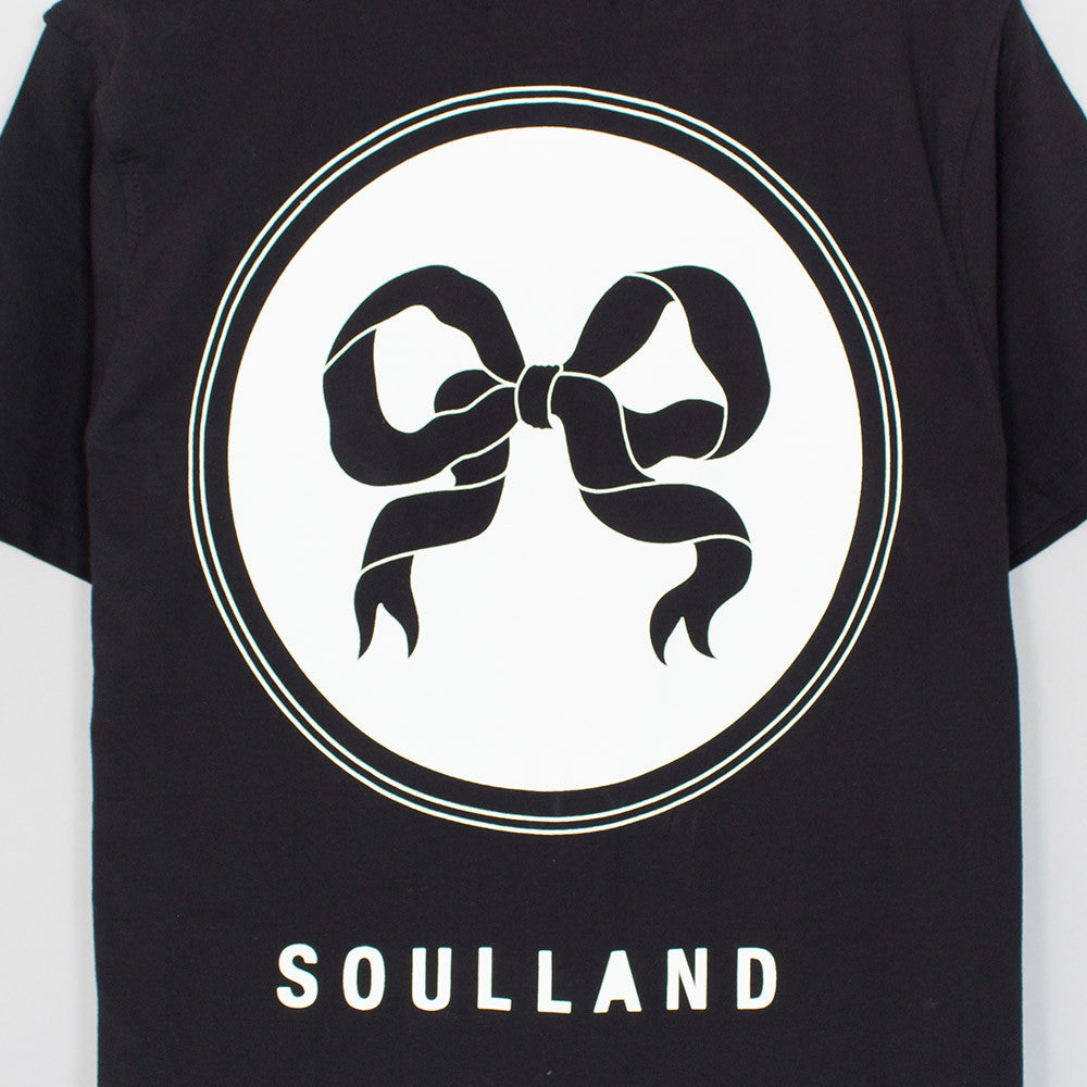 Soulland Ribbon T-Shirt - Black - 4