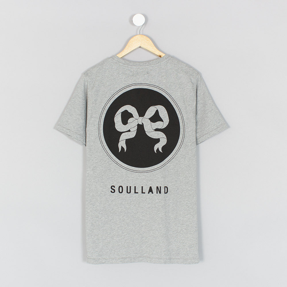 Soulland Ribbon T-Shirt - Grey - 2