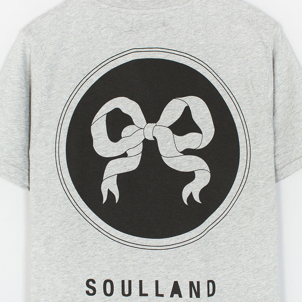 Soulland Ribbon T-Shirt - Grey - 3