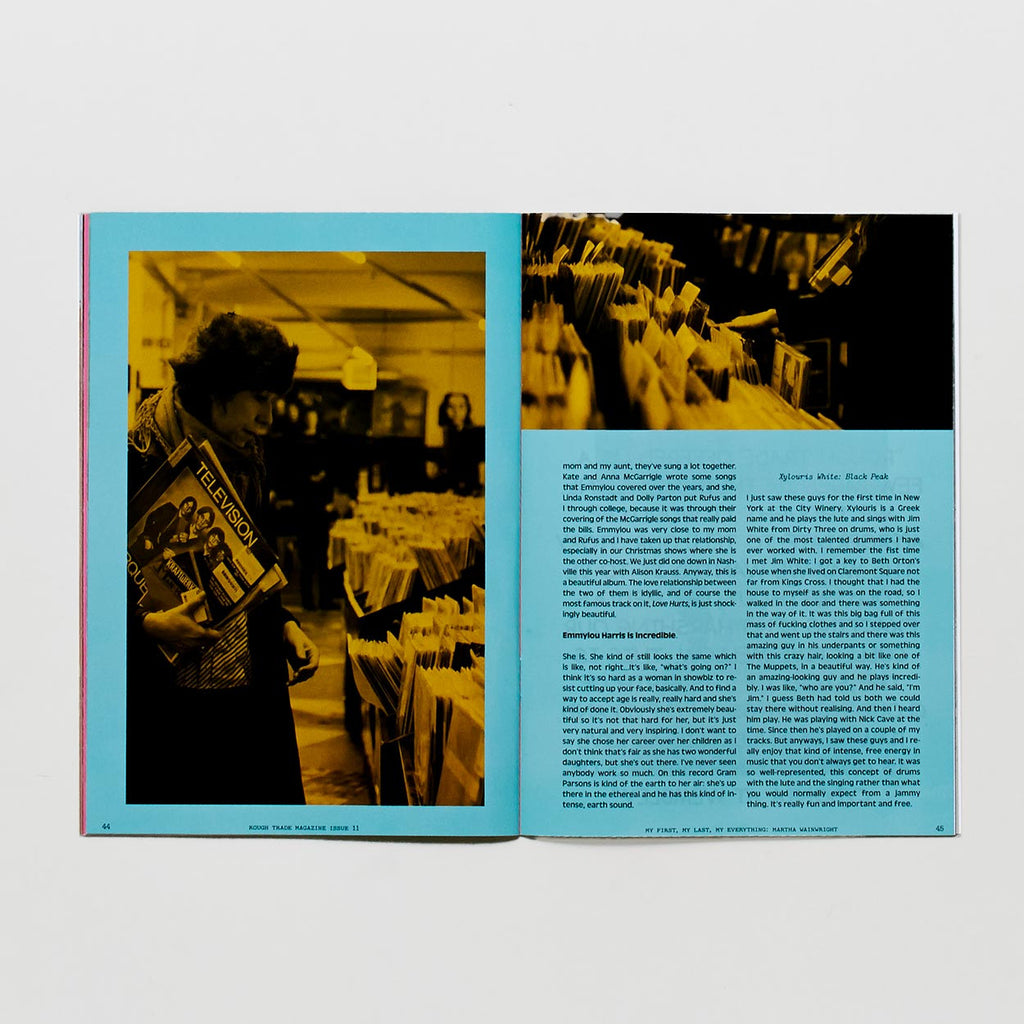 Rough Trade Magazine Issue 11