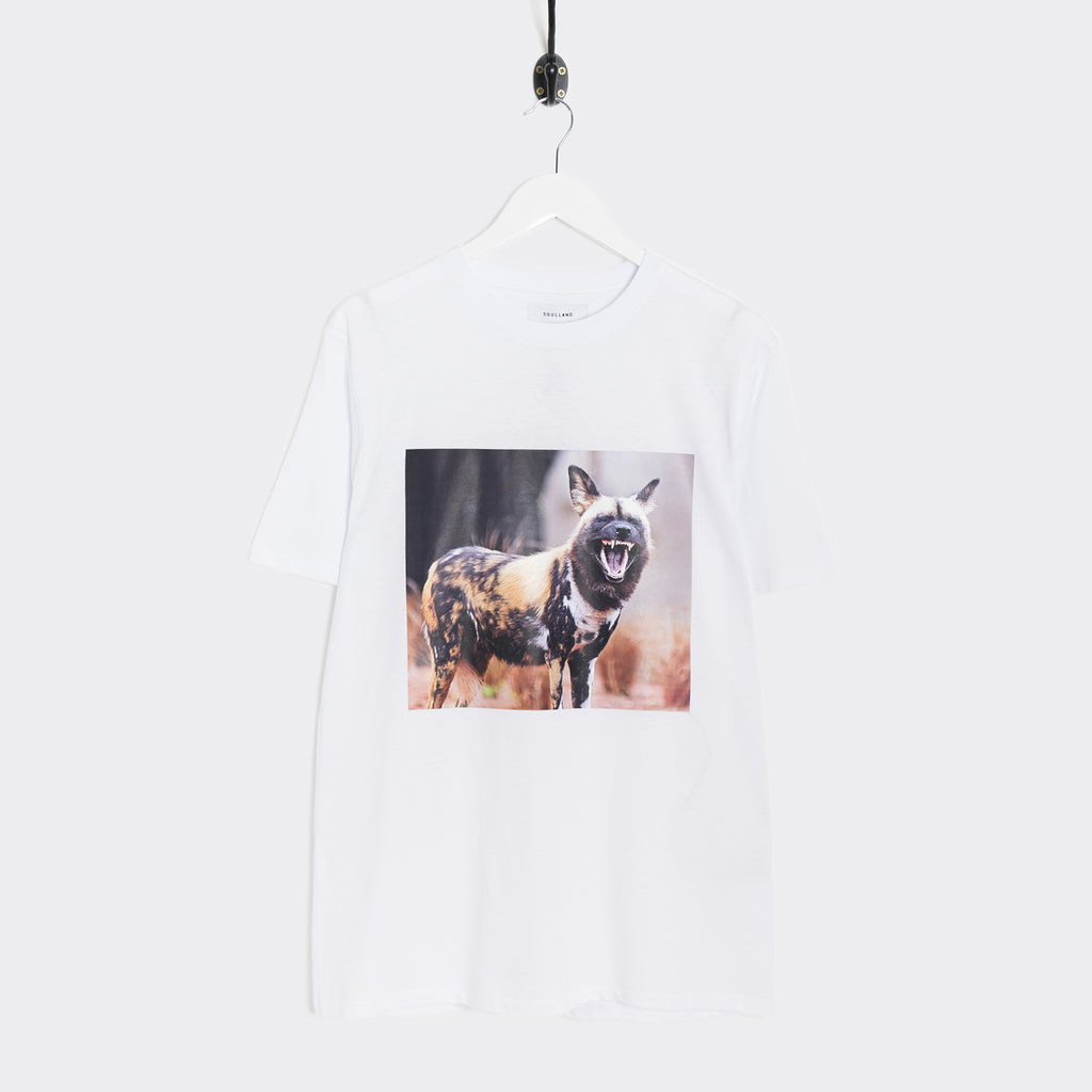 Soulland Hammer T-Shirt - White  - CARTOCON