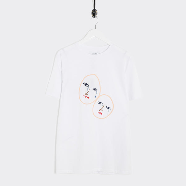 Soulland Marie T-Shirt - White  - CARTOCON
