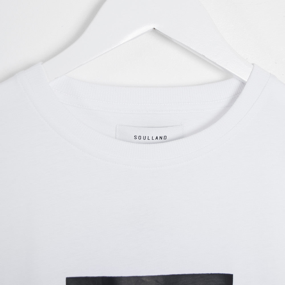 Soulland Cookie T-Shirt - White - 2
