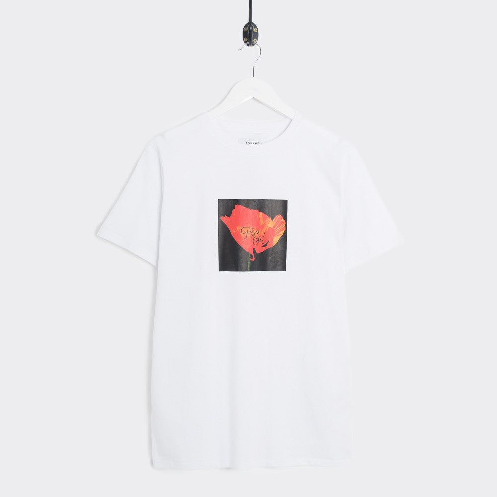 Soulland Cookie T-Shirt - White  - CARTOCON